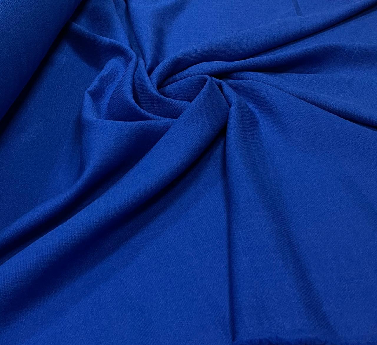 Linho Verano Liso Azul Royal