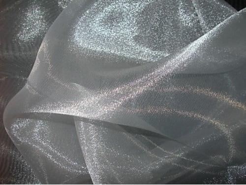 Organza Cristal Lisa Branco