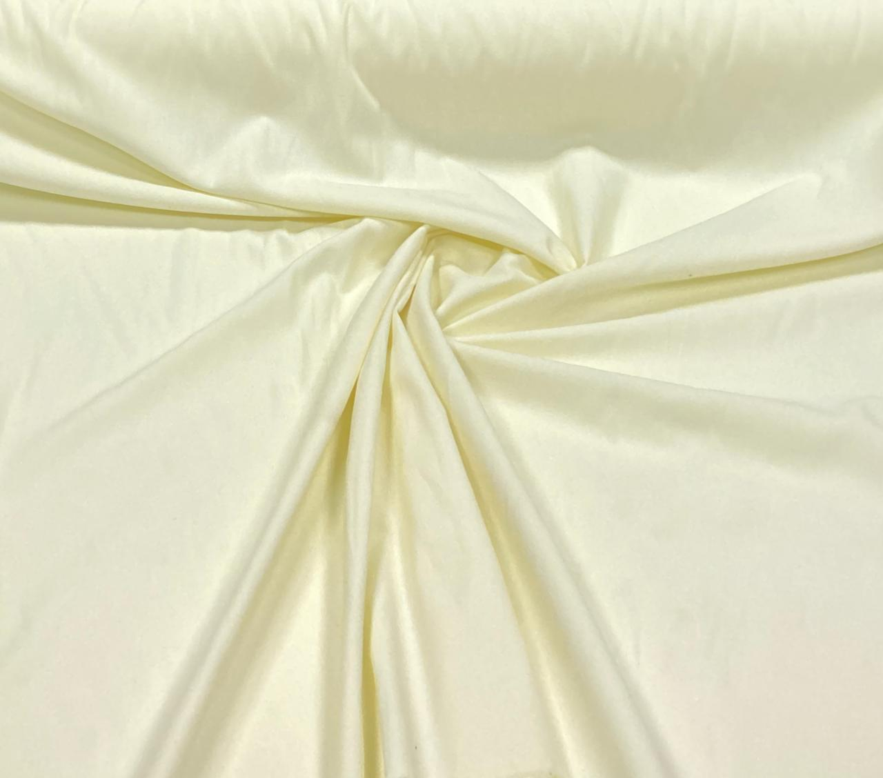Sarja Cotton Amarelo Claro 100% Algodão - 1,6m Largura