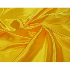 Cetim Charmeusse Liso Amarelo Ouro