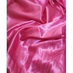 Cetim Charmeusse Liso Rosa Pink