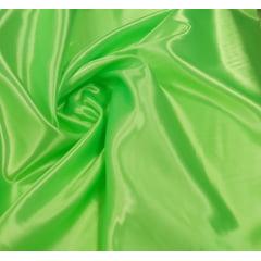 Cetim Charmeusse Liso Verde Cítrico