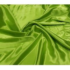 Cetim Charmeusse Liso Verde Pistache