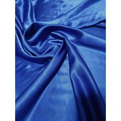 Cetim Mellow Liso Azul Royal