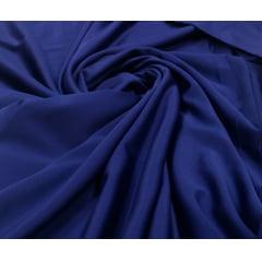 Crepe Amanda Liso Azul Marinho