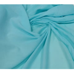 Crepe Gauze Azul Claro