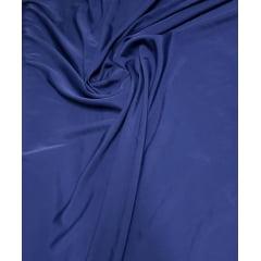 Crepe Haya Liso Azul Marinho