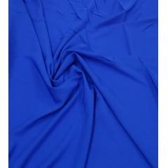 Crepe Haya Liso Azul Royal