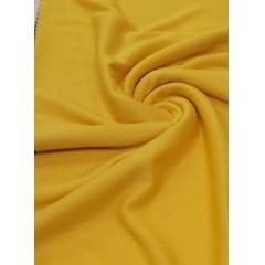 Malha Helanca Lisa Amarelo Ouro
