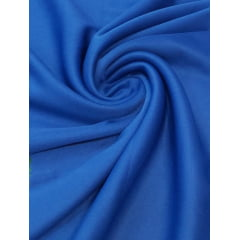 Malha Helanca Lisa Azul Royal
