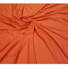 Malha Helanca Lisa Laranja - 1,6m Largura