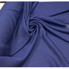 Linho Verano Liso Azul Marinho