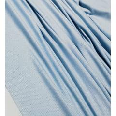 Malha Lurex Azul Serenity com Brilho Prata