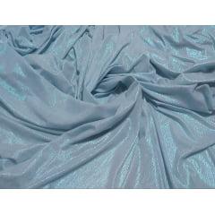 Malha Lurex Perolada Azul Serenity