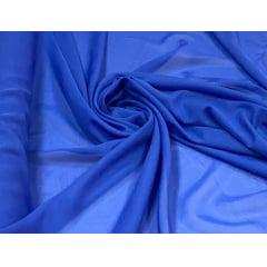 Mousseline Lisa Azul Royal