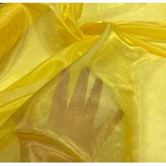 Organza Diamond Lisa Amarelo Ouro