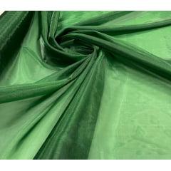 Organza Diamond Lisa Verde Floresta