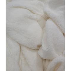 Pelúcia Lisa Alpaca (Lhama) Off White