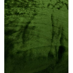 Pelúcia Lisa Verde Militar