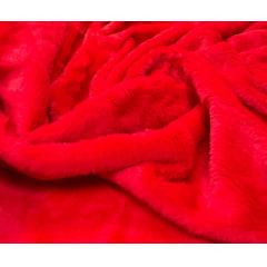 Pelúcia Lisa Vermelha