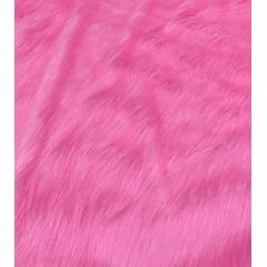 Pelúcia Pelo Alto Rosa Chiclete