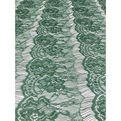 Renda Tipo Chantilly Verde