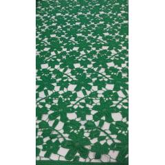 Renda Guipir Pesada Verde Bandeira