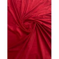 Veludo Plush Vermelho Cereja