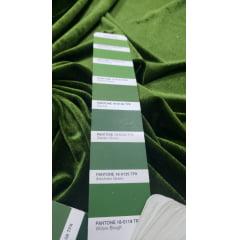 Veludo Spandex c/ Lycra Verde Musgo