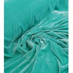 Veludo Spandex c/ Lycra Verde Tiffany