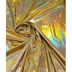 Vinil Furtacor Dourado com Elastano