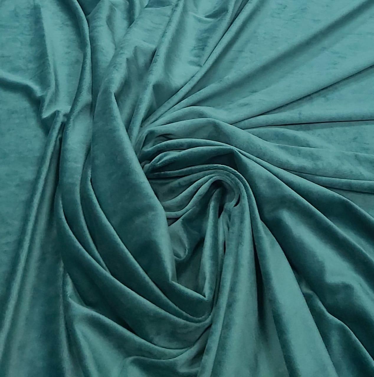 Veludo Plush Verde Garrafa